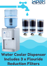 Water Cooler Dispenser Chiller Hot Cold Taps Fluoride Reduction Filters AU