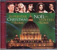 SUPERSTAR CHRISTMAS IN ROME CD - SPECIAL CONCERT AT VATICAN - NEW SEALED