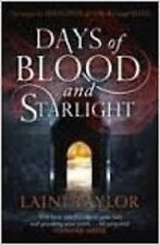 Days of Blood and Starlight by Laini Taylor - NEW Paperback Book