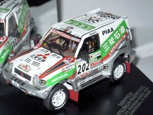WOW EXTREMELY RARE Mitsubishi Pajero Gen2 Evo #202 Dakar 1999 1:43 Vitesse-Spark