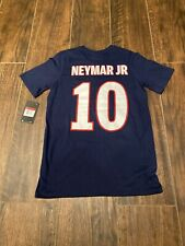 Neymar Paris Saint-Germain Nike Football Soccer Jersey Shirt Youth Large NWT