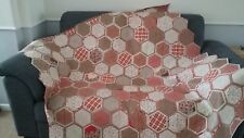 HANDMADE PATCHWORK QUILT FROM WHITE SQUARE DESIGN QUILTS