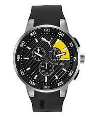 Puma 10416 Chrono black yellow Herrenuhr Uhr PU104161003