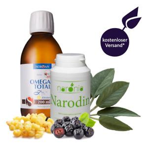 Narodin + 200 ml Omega-3 Total Öl / Weihrauch / Aronia / Salbei / Katzenkralle