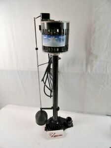 Superior Pump 1/3 HP Thermoplastic Pedestal Sump Pump Model 92333  used