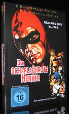 DVD DER SCHARLACHROTE HENKER - SCHLOSS DES BLUTES - UNCUT SPECIAL EDITION 2 DISC