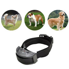 New Anti No Bark Dogs Trainer Stop Barking Pet Training Control Collar Hot