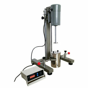 Digital Display High-Speed Machine Disperser Homogenizer Mixer Lab Equipment