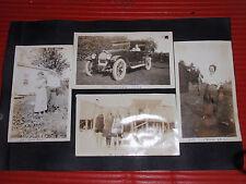 8 ANTIQUE PHOTOGRAPHS  1920'S  CARS AUTOMOBILES  ROCKAWAY BEACH SHORE