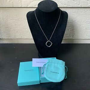 Tiffany & CO Gehry Necklace Sterling Silver Frank Torque Pendant