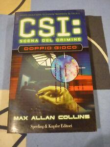 DOPPIO GIOCO CSI MAX ALLAN COLLINS
