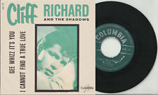 CLIFF RICHARD & Shadows pic sleeve 45 GEE WHIZZ IT'S YOU I Cannot Find Belgium