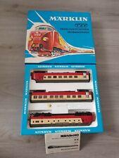 maquette de train marklin 3071 HO trans europ express diesel tee +notice