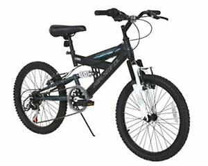 Dynacraft Air Zone Dual Suspension Mountain Bike Boys 20 Inch Wheels with 6 spee