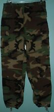US Army Olive Green Woodland Camo Combat Fatigue Uniform Pants Trousers