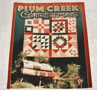 Quilt Pattern Book - 1996 Plum Creek Christmas - by Johanna Wilson