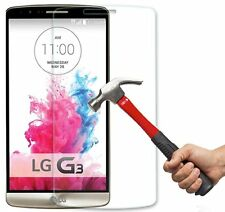 TEMPERED GLASS SCREEN PROTECTOR ANTI SCRATCH FILM For LG G3 D855 UK SELLER