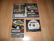 NASCAR 07 DE EA SPORTS PARA LA SONY PLAY STATION 2 PS2 USADO COMPLETO