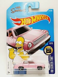 Hot Wheels The Simpson's Family Car - 2017 HW Screen Time 112/365