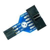 ISP-Adapter, 10-pin auf 6-pin, für z.B. Atmel AVR, Arduino, Bascom, USBasp, ICSP