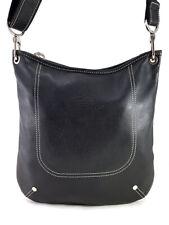 Longchamp Foulonne Black Leather Hobo Shoulder bag