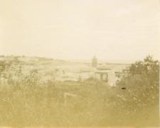 Tunisie, Tunis, la villa Marcelle, vue générale  Vintage citrate print, Tira