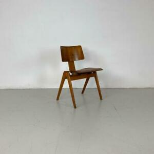 MIDCENTURY MOULDED PLYWOOD STACKING CHAIR ROBIN DAY HILLESTAK #3199