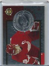 New listing 1997-98 Pinnacle Mint SILVER MINT TEAM # 5 STEVE YZERMAN Hockey Card RED WINGS