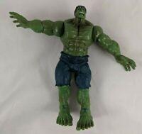 "Hasbro Hulk Action FIgure 6"" 2007 Press Arm Moves"