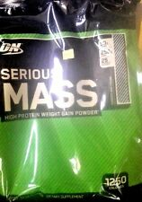 NEW FLAVOR OPTIMUM NUTRITION SERIOUS MASS Cookies & Cream 12lb 09/2019EXP