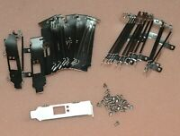 Lot of 100 Low profile bracket for Mellanox MNPA19-XTR 671798-001 666172-001