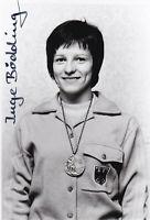 Inge BÖDDING - Deutschland, Bronze Olympia 1972 Leichtathletik, Original!