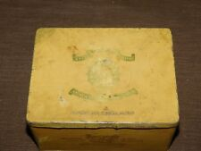 VINTAGE STATE EXPRESS CIGARETTES 555 TOBACCO TIN BOX   *EMPTY*