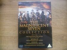 Magnificent Seven DVD Collection Brand New Sealed Post Free
