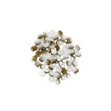 True2™ Fire Polished Czech Seed Beads Chalk White Valentine Matte PK50 (L67/6)