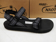 SOURCE by NAOT MENS SANDALS HAVEN CHESS BLACK SIZE EU 45