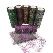 15CM*10 Yards Star Tulle Mesh Roll Tutu Skirt Halloween Party DIY Craft Fabric