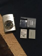 Canon PowerShot SD870 IS 8MP Digital Elph Camera w/3.8x Zoom #857