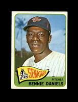 1965 Topps Baseball #129 Bennie Daniels (Senators) EXMT