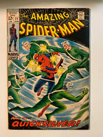AMAZING SPIDER-MAN #71 - 7.5 VF- Condition  - Quicksilver Appearance
