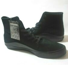 Mens Size 11 Converse CTAS Quantum Hi Leather Triple Black Shoes 156167C