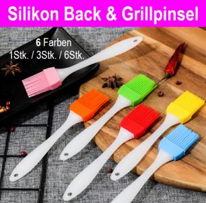 Backpinsel Silikon Pinsel Backpinsel Grill Bratenpinsel Küchenhelfer Backhilfe