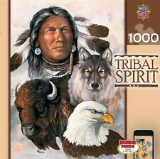 MASTERPIECES TRIBAL SPIRIT PUZZLE ONE SPIRIT B.A. ROBERTS 1000 PCS #71454