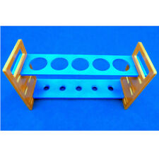 Test Tube Stand in Plastic  5 Places Fold Type - Pack of 4 - LA600-0000-04