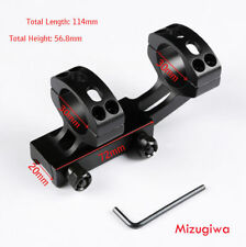 Tactical Cantilever 30mm Rings 21mm Picatinny Rail Scope Mount For Rifle Scope