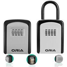 Wall Mountedamppadlock Outdoor4ampdigit Combination Key Lock Storage Security Box