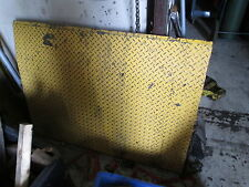 "McMaster Carr 5"" Loading Ramp, 7300Lb Capacity, 36""x48"", Good Condition"