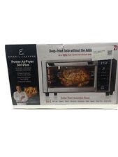Power Air Fryer 5-Heating Elements 360° Even Cooking Digital Panel Auto