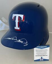 Shin-Soo Choo signed Texas Rangers Full Size Batting Helmet BAS Beckett