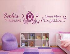 Deko-Wandtattoos & Wandbilder im Kinder-Stil mit Mädchen fürs Kinderzimmer